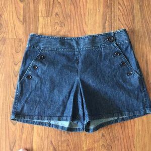 Anne Taylor denim shorts 6